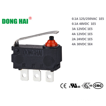 Mini Compact Size Dustproof Backdoor Locking Switch